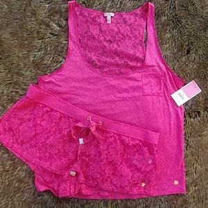 Juicy Couture All Over Lace Set
